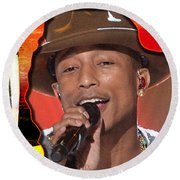 Pharrell Williams Round Beach Towel