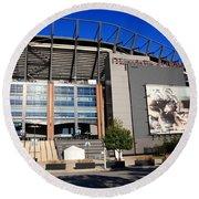 Philadelphia Eagles - Lincoln Financial Field Round Beach Towel