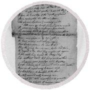Phillis Wheatley (1753?-1784) Round Beach Towel