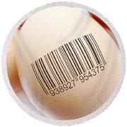 Product Identification Round Beach Towel