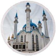 Qolsharif Mosque Round Beach Towel