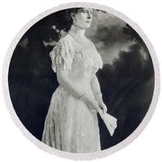 Queen Mary (1867-1953) Round Beach Towel