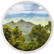 Queensland Rainforest Round Beach Towel