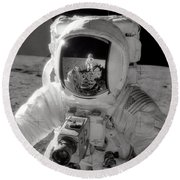 Reflecting Round Beach Towel