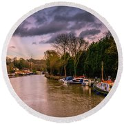 River Medway Round Beach Towel
