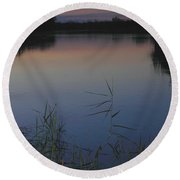 River Murray Sunset Series 2 Round Beach Towel