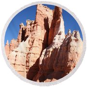Rockformation Bryce Canyon Round Beach Towel