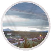 Rollinsville Colorado Round Beach Towel