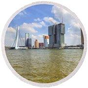 Rotterdam Round Beach Towel