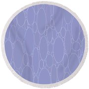 Rounded Color Variety Round Beach Towel