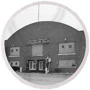 Route 66 - Coliseum Ballroom Round Beach Towel