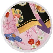 Sagi No Mai Round Beach Towel
