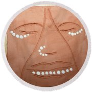 Samuel - Tile Round Beach Towel