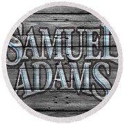 Samuel Adams Round Beach Towel