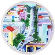 San Francisco Tradition Round Beach Towel