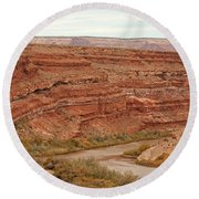 San Juan River Round Beach Towel