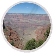 Scenic View - Grand Canyon Round Beach Towel