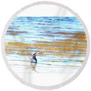 Sea Bird Round Beach Towel