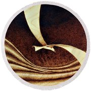 Seagull Round Beach Towel by Ilaria Andreucci