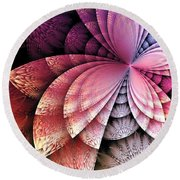 Sectioned Round Beach Towel