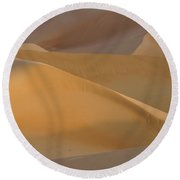 Sensuous Curves Round Beach Towel