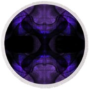 Silence Round Beach Towel by Christopher Gaston