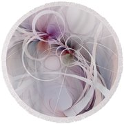 Sleight Of Hand Round Beach Towel by NirvanaBlues
