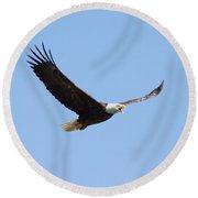 Soaring Eagle Round Beach Towel