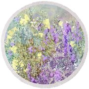 Sommer Meadow Round Beach Towel