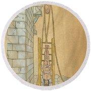 Spine Treatment, 1544 Round Beach Towel