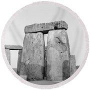 Stonehenge Round Beach Towel by Anonymous
