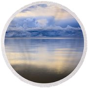 Storm Clouds And Lake Winnipeg At Round Beach Towel