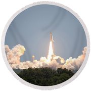 Sts-132, Space Shuttle Atlantis Launch Round Beach Towel