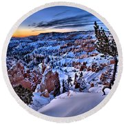 Sunrise At Bryce Round Beach Towel