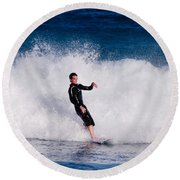 Surfer Round Beach Towel