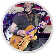 Ted Nugent Round Beach Towel