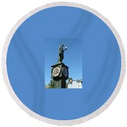 The Clock Round Beach Towel