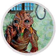 The Fly Round Beach Towel