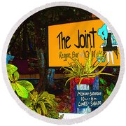 The Joint Round Beach Towel