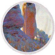 The Medicine Robe Round Beach Towel
