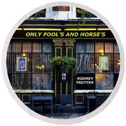 The Only Fool's And Horse's Round Beach Towel