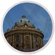 The Radcliffe Camera Round Beach Towel