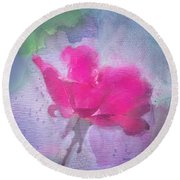 The Scent Of Roses Round Beach Towel