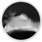 The Shivering Isles Round Beach Towel