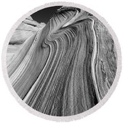 The Wave In The North Coyote Buttes Round Beach Towel