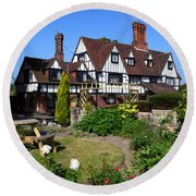 The Weavers Southborough Kent Round Beach Towel
