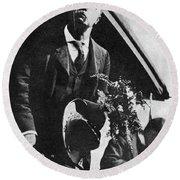 Theodore Roosevelt (1858-1919) Round Beach Towel
