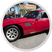 TVR Round Beach Towel
