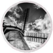 Upminster Windmill Essex Round Beach Towel