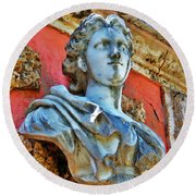 Vizcaya Round Beach Towel